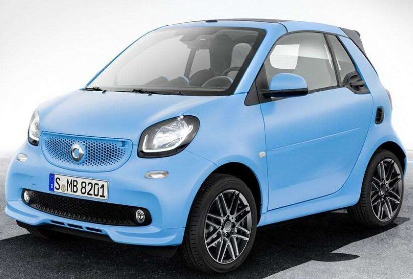 2016 Smart fortwo coupe 66kW